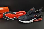 Кроссовки Nike Air Max 270 арт.20627 (мужские, синие, найк), фото 3