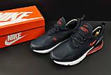Кроссовки Nike Air Max 270 арт.20627 (мужские, синие, найк), фото 5