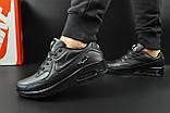 Кроссовки Nike Air Max 90 арт 20601 (мужские, черные, найк), фото 2
