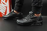 Кроссовки Nike Air Max 90 арт 20601 (мужские, черные, найк), фото 3