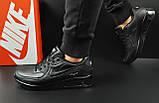 Кроссовки Nike Air Max 90 арт 20601 (мужские, черные, найк), фото 4