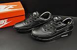 Кроссовки Nike Air Max 90 арт 20601 (мужские, черные, найк), фото 5
