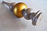 Мебельные ножки и опоры деревянные для стола  H.750 D.160, фото 4