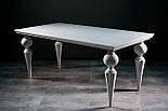 Мебельные ножки и опоры деревянные для стола с гранями H.760 D.180, фото 5