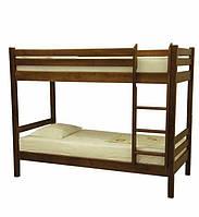Двухъярусная кровать деревянная Сосна, 80х200