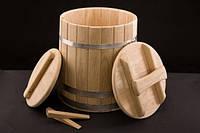 Кадка дубовая для солений - 25 литров