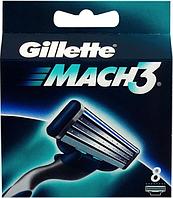 Картриджи, кассеты Gillette MACH3 (8шт), фото 1