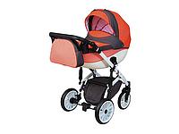 Детская коляска 2 в 1 Angelina Discovery Voyager оранжевая 51