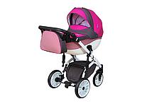 Детская коляска 2 в 1 Angelina Discovery Voyager розовая 53