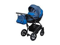 Детская коляска 2 в 1 Angelina Grand Mirage Silver синяя color 15