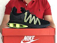 Мужские кроссовки Nike Shox Gravity черные