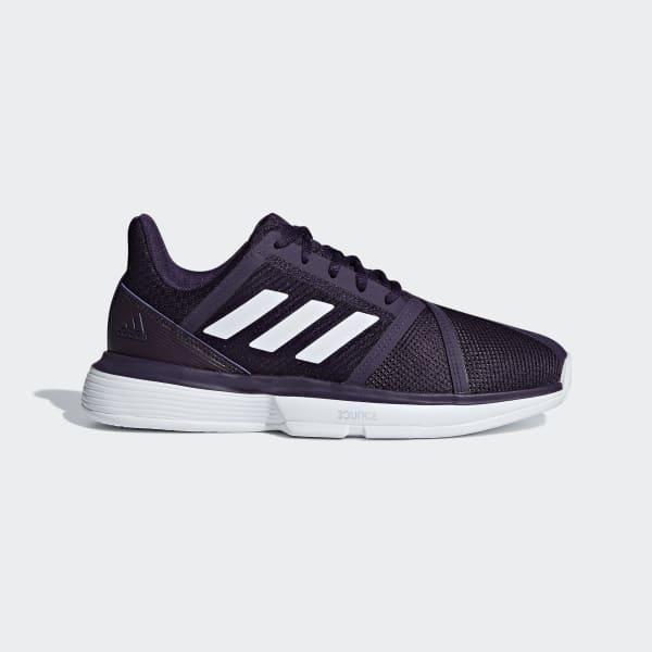 Кроссовки женские оригинальные Adidas CourtJam Bounce фиолетовые
