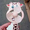 Детский вентилятор Жирафчик, ручной вентилятор