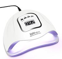 Лампа для ногтей и шеллака SUN 5x Max UV+LED 80 Вт, Белая