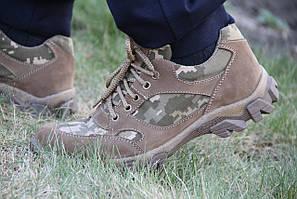 Тактические кроссовки летние из натуральной кожи ARMOS 001 ПХ