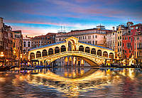 Пазлы Мост Риальто ночью, Венеция, Castorland 1000 элементов