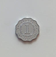1 цент Беліз 2007 р., фото 1