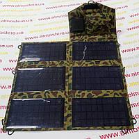 Солнечное зарядное устройство Atmosfera PETC-S21T, 21Вт, камуфляж, фото 1