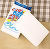 Губка меламиновая белая в упаковке 100×60×20 мм