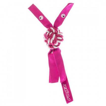 Игрушка Ковбои для собак M розовый, фото 2