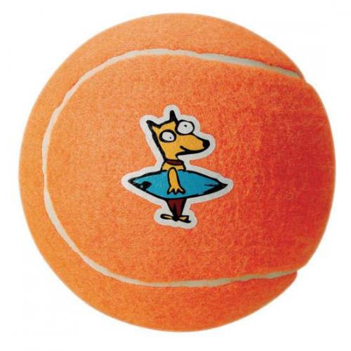 Игрушка Молекула для собак теннисный мяч 6.5 оранжевый