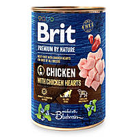 Корм Брит премиум для собак Brit Premium by Nature 400 г курица с куриным сердцем