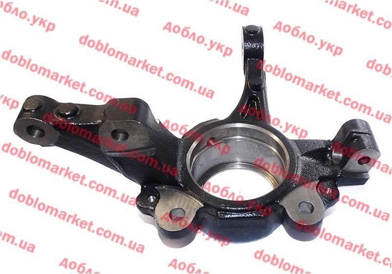 Цапфа левая +ABS Doblo 2009- (OPAR), Арт. 52043100, 51810667, 52043100, FIAT