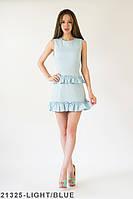 Жіноче плаття Подіум Rosalina 21325-LIGHT/BLUE XS Голубий