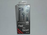 Наушники Feel the beat(adidas) MX 580, аксессуары для телефона, аксессуар для копмьютера, наушники, фото 1