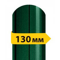 Штакетник 130мм 0,45мм Украина матовый двухсторонний RAL 6005 (зеленый мох)