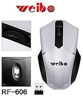 Беспроводная мышь Weibo RF-606 для компьютера/ноутбука, фото 1