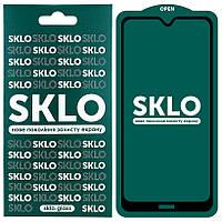 Защитное стекло SKLO 5D (full glue) для Xiaomi Redmi 8 / 8a
