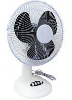 Настольный лопастной вентилятор. Диаметр 40см. Мощный домашний вентилятор. 3 скорости.