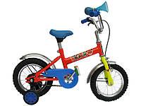 Велосипед детский 12 с боковыми колесами ТМ ХВЗ Tiger58 (247269)