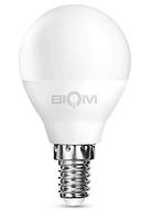 Светодиодная лампа Biom BT-546 G45 4W E14 3000 K 4500К матовая