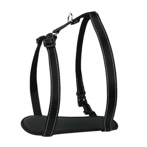 Шлея Dog Extreme Comfort для собак 20 мм, 50-80 см, чорна