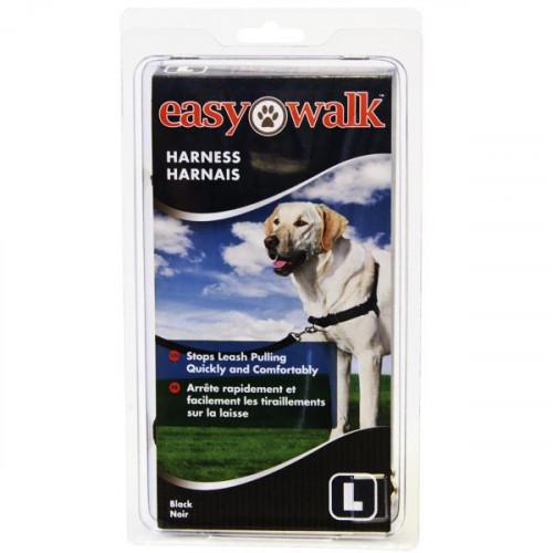 Шлея Premier Easy Walk антирывок, для собак, чорна, маленька