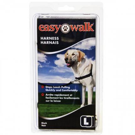 Шлея Premier Easy Walk антирывок, для собак, чорна, маленька, фото 2