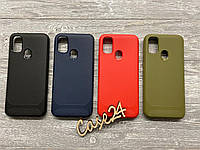 TPU чехол накладка Carbon для Samsung Galaxy M21 (4 цвета)