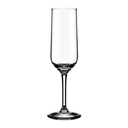 ИКЕА (IKEA) ХЕДЕРЛИГ, 401.548.73, Бокал для шампанского, прозрачное стекло, 22 сл - ТОП ПРОДАЖ