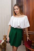 Жіноча спідниця Подіум Roberta 12379-DARKGREEN XL Зелений