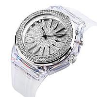 Часы женские наручные Skmei 1536 (Скмеи), цвет серебро ( код: IBW326S ), фото 1