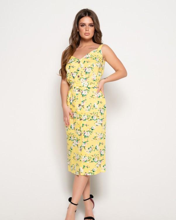 Платья  10833  S желтый