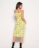 Платья  10833  S желтый, фото 3
