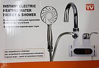Проточный водонагриватель с душем  (Мини бойлер) Heater 010