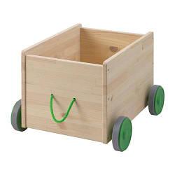 ИКЕА (IKEA) ФЛИСАТ, 102.984.20, Контейнер д/игрушек, с колесиками - ТОП ПРОДАЖ