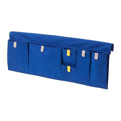 ИКЕА (IKEA) MÖJLIGHET, 804.213.89, Карман д/кровати, синий, 75x27 см - ТОП ПРОДАЖ