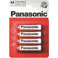 Батарейка PANASONIK R-6 (АА) (ПАЛЬЧИК) БЛИСТЕР 48шт / уп
