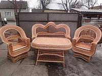 Набор мебели из лозы купить