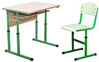 Комплект парта+стул регулируемая по высоте